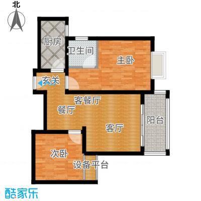 馨宁公寓83.00㎡1面积8300m户型