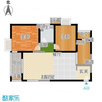 地杰国际城100.00㎡上海面积10000m户型