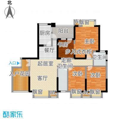 锦江帆影139.00㎡B4型面积13900m户型