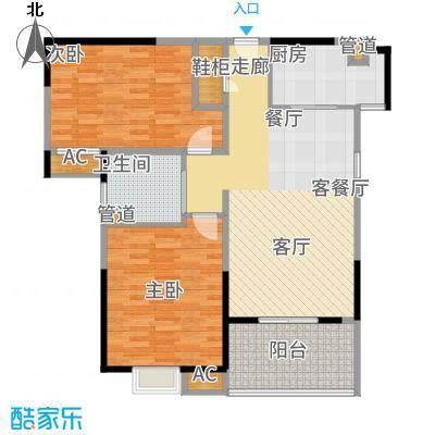 新弘国际城89.99㎡Af户型