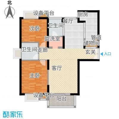 春申景城MID-TOWN107.10㎡户型