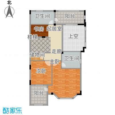 长泰东郊御园C2二层户型2室2卫
