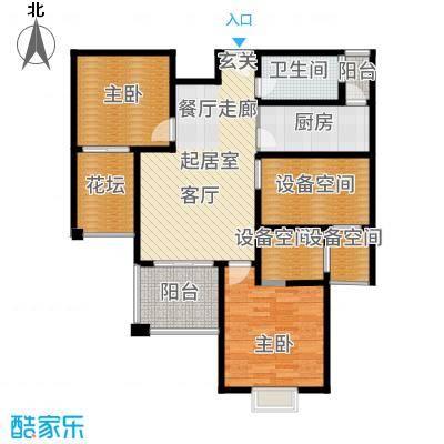 保利叶上海A5户型2室1卫1厨