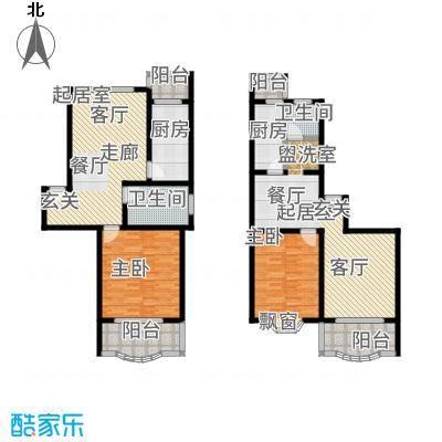 昌鑫时代绿园一期72.00㎡房型: 一房; 面积段: 72 -72 平方米;户型