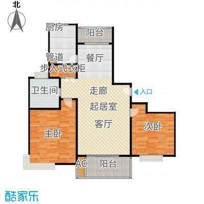 玉乐小区2室2厅1卫106平米全南户型