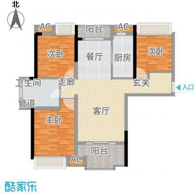 联投国际城1104黄冈单张户型