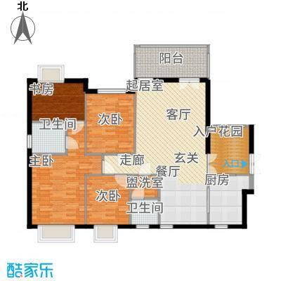 碧阳国际城136.76㎡H户型