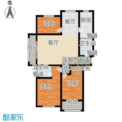 东海香港城142.31㎡东海・香港城D-1户型
