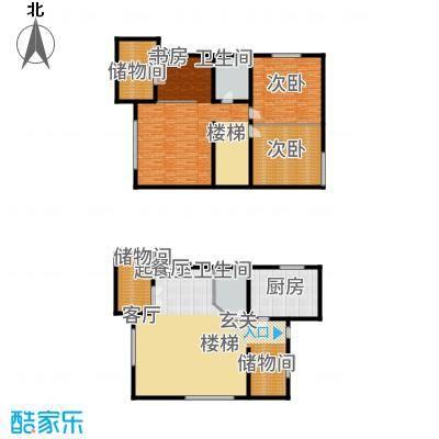 爱尚泾渭X265.00㎡复式面积6500m户型