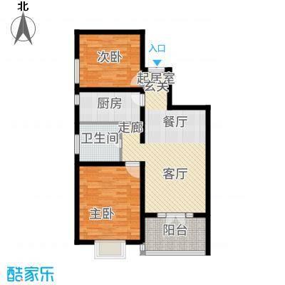 金茂晓苑90.00㎡1面积9000m户型