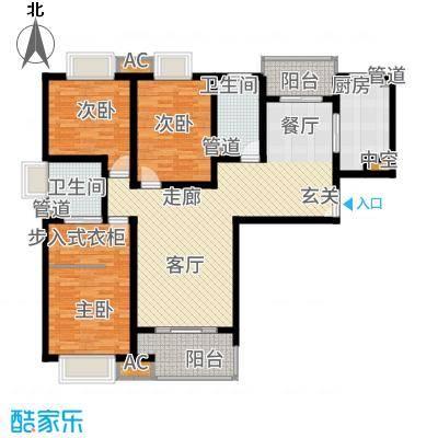 中国铁建梧桐苑140.00㎡二期面积14000m户型