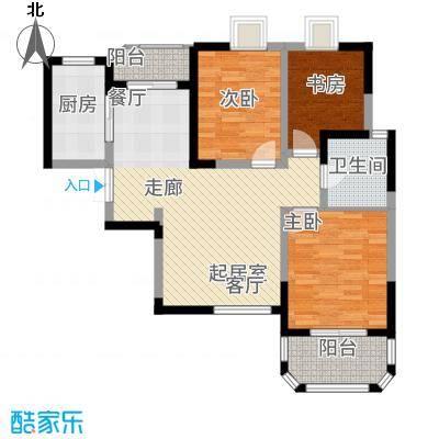 香克林小镇111.73㎡10#楼3单元1面积11173m户型