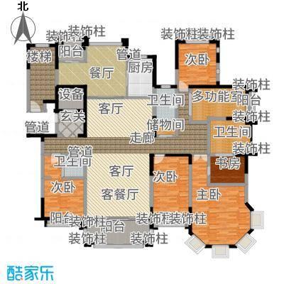 荣禾曲池东岸270.00㎡户型
