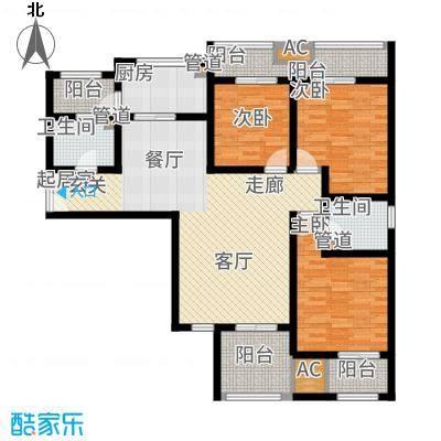 龙湖香醍国际社区120.00㎡C2户型