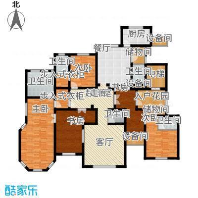 海宁湾249.56㎡5号楼标准层03户型