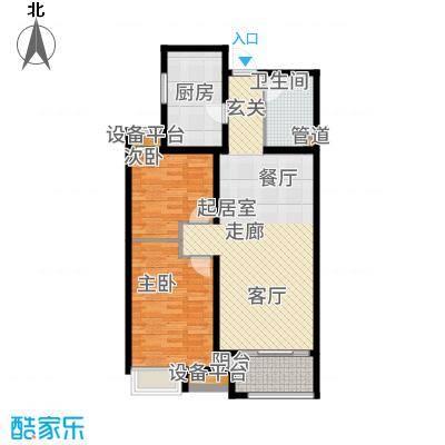 融创洞庭路壹号90.96㎡高层1-4号楼标准层A3户型