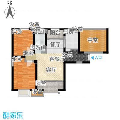 融创中央学府103.00㎡一期8、10号楼标准层C户型