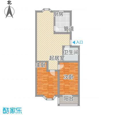 西杨家园96.00㎡面积9600m户型