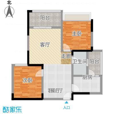 锦绣龙城八期鎏园93.33㎡B2(已售完)户型