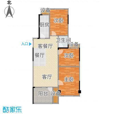 汉阳满庭春MOMΛ89.20㎡1、3、6#楼C2户型