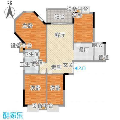 华南碧桂园翠宏台146.00㎡面积14600m户型