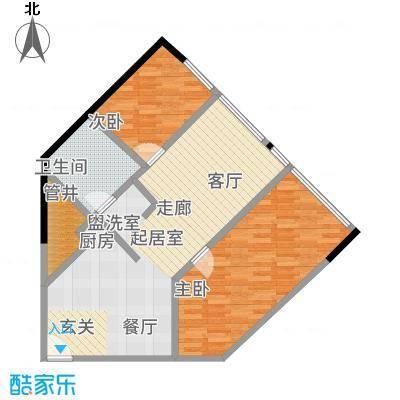 瑞安花园80.00㎡二期国际公寓面积8000m户型