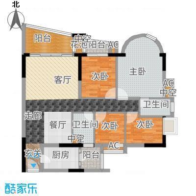 珠江帝景苑悦涛轩C2户型