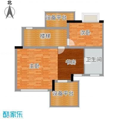 顺德碧桂园95.00㎡D3505四层户型