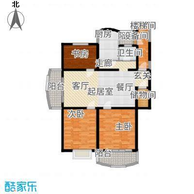 长江花园112.30㎡面积11230m户型