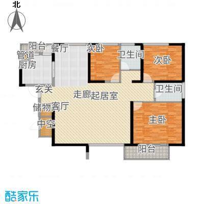 长江路九号165.45㎡3面积16545m户型