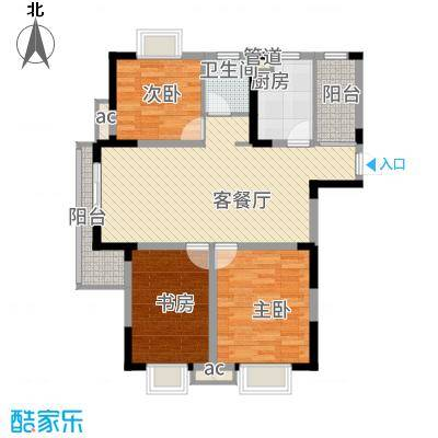 香樟园109.03㎡30号楼C2面积10903m户型