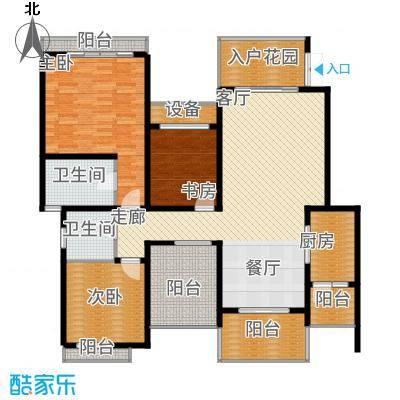 龙湖悠山庭院105.00㎡C7-23面积10500m户型