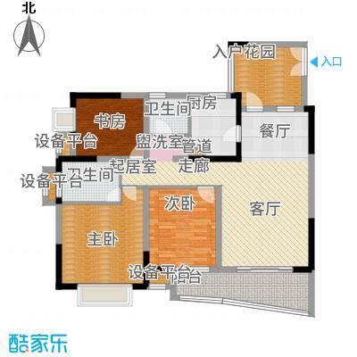 上海城三期天域102.00㎡三期17/19幢标准层02/05号房户型