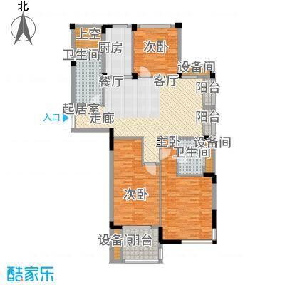 瓜渚绿洲131.40㎡户型