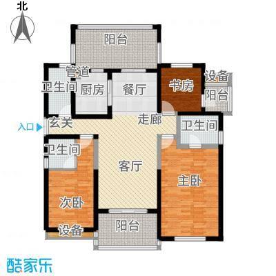 金通黄金海岸139.00㎡D户型