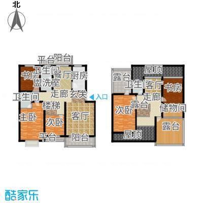 金宸花园170.00㎡普通住宅面积17000m户型