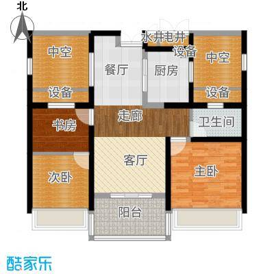 金通黄金海岸89.00㎡C户型