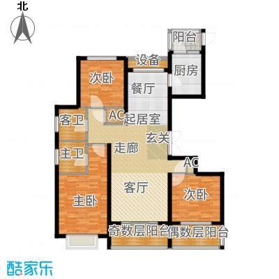 宝业大坂风情139.60㎡户型