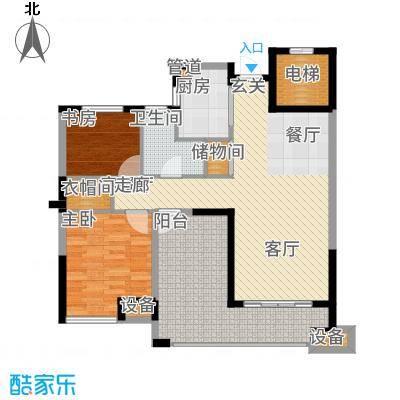 盛世豪庭97.65㎡三期B面积9765m户型