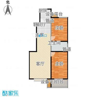 瀛嘉汇90.00㎡二期住宅房源B2户型2室2厅