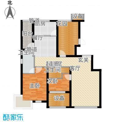 大苑·海淀名著115.92㎡一期A-乙户型3室2厅