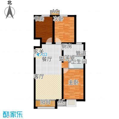 中国铁建·青秀尚城92.00㎡中国铁建青秀尚城2户型3室2厅