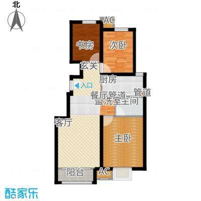 中国铁建·青秀尚城93.00㎡中国铁建青秀尚城3户型3室2厅