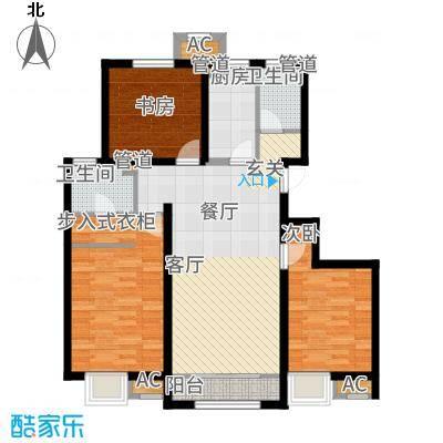 中国铁建·青秀尚城115.00㎡中国铁建青秀尚城1户型3室2厅