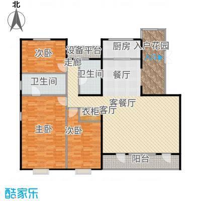 泰禾·北京院子160.00㎡北入平墅I户型