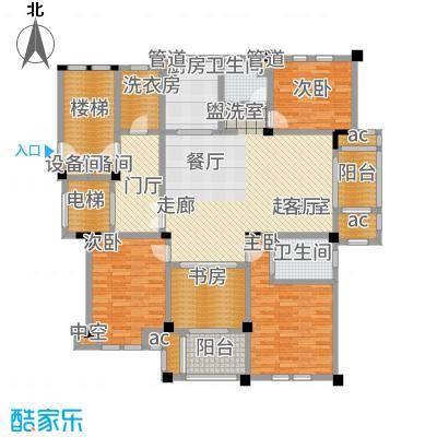 大华紫颐园170.00㎡D1户型3室2厅