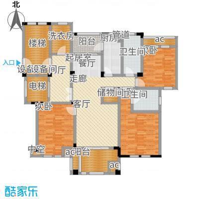 大华紫颐园151.00㎡C1户型3室2厅
