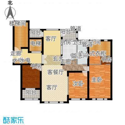 华润新江湾九里166.00㎡9栋86号30户型3室2厅