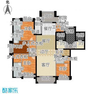 浦东星河湾245.00㎡B3户型4室3厅