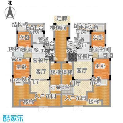 港城滴水湖馨苑90.00㎡C1户型2室2厅